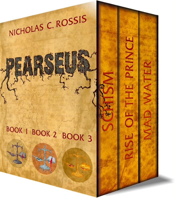 Pearseus Box Set Book Covers