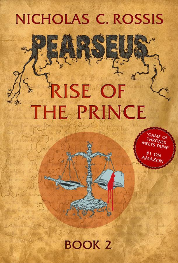 Pearseus Rise of the Prince: Book Cover