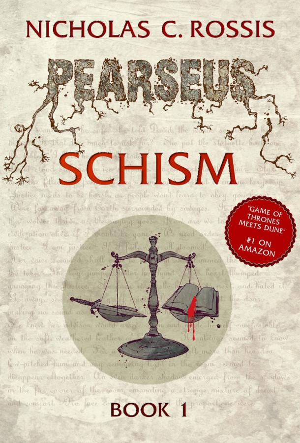 Pearseus Schism: Book Cover (2)