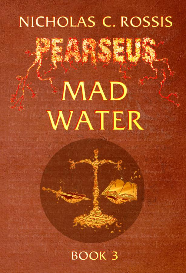 Pearseus Mad Water: Book Cover